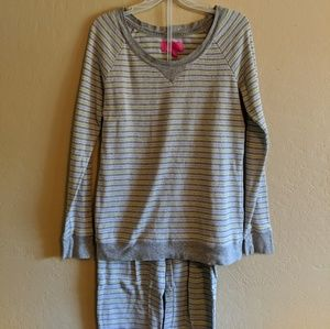 Victoria's Secret Long John Pajama Set